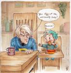 Draco meets Teddy