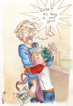 Draco and Teddy (part 2)
