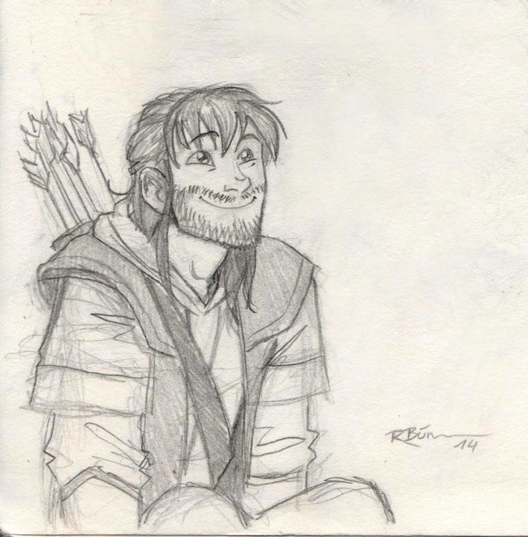 Another Kili sketch by CaptBexx