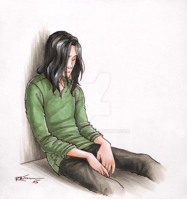 Loki in prison [coloured] by CaptBexx on DeviantArt