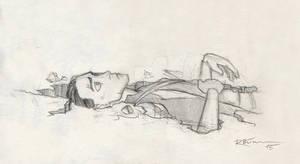 Loki meets the floor...
