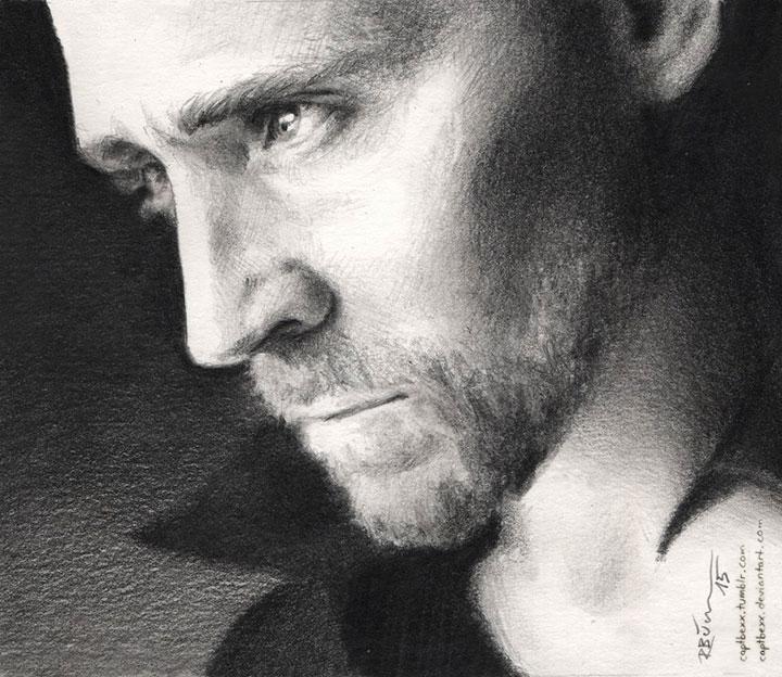 Tom Hiddleston by CaptBexx