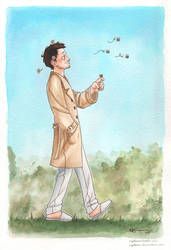 Cas and bees