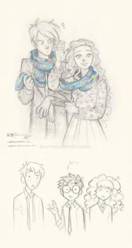 Draco and Luna