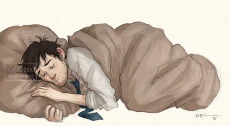 Sleeping Angel by CaptBexx