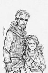 Floki and Angrboda 2 by CaptBexx