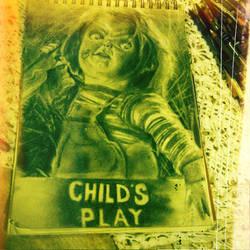 Chucky the Killer Doll by sallysayuri