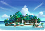 Kingdom Hearts - Destiny Island