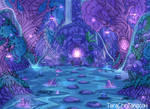 Faelight Forest - Crystal Grotto