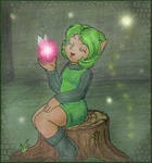 Saria and her Fairy