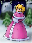 Princess Peach in Winter