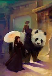 Big Panda by BoykoHelen