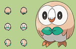 [OVERWORLD] Rowlet by KleinStudio