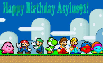 Happy Birthday Asylus91! by josephjoewhitaker