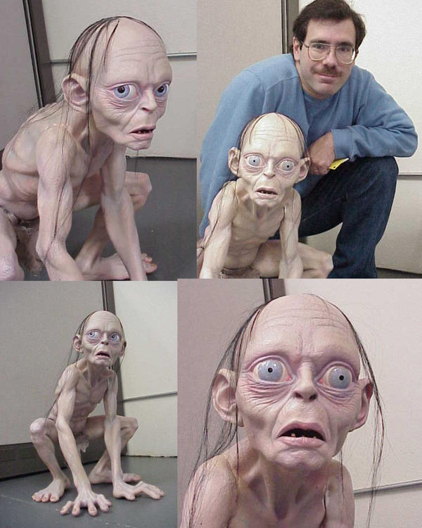 Gollum by darkwax
