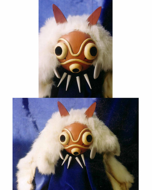 Princess Mononoke Mask by darkwax