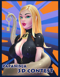 papaninja's facebook 3d contest entry by CGHow