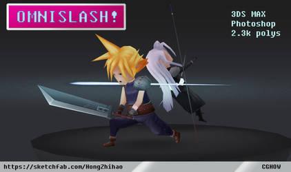 Cloud Vs Sephiroth Showdown, Omnislash! by CGHow