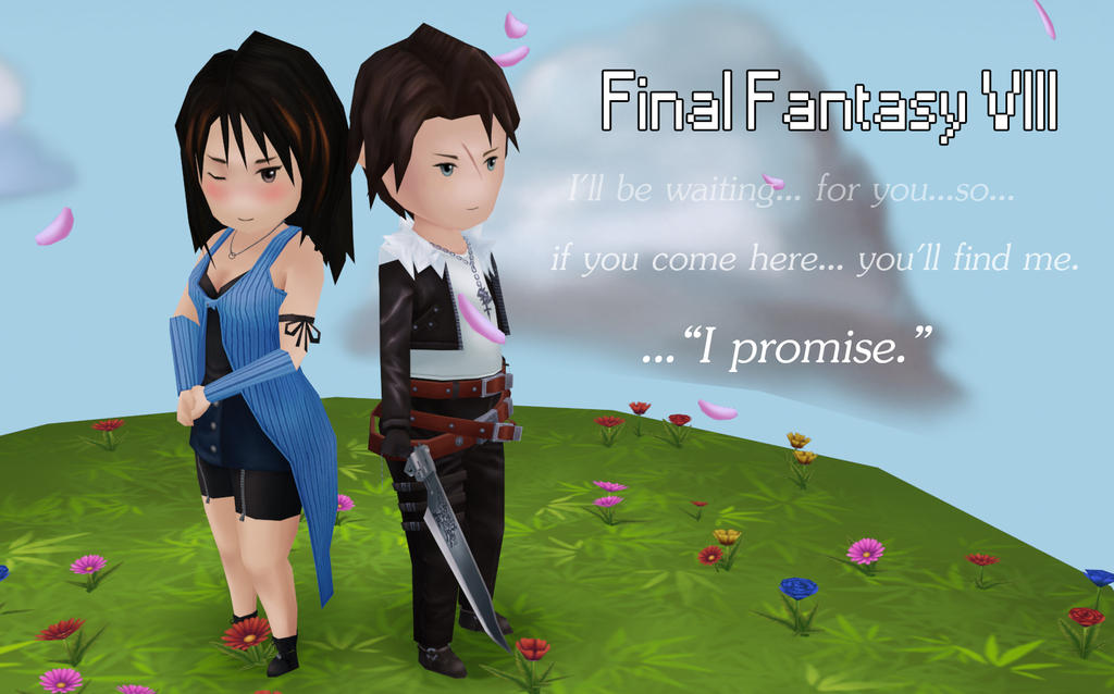 Final Fantasy VIII, Squall and Rinoa
