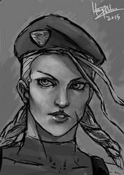 Cammy portrait speed paint by CGHow