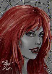 Mary Jane Fan Art. (The Amazing Spider-man) by CGHow
