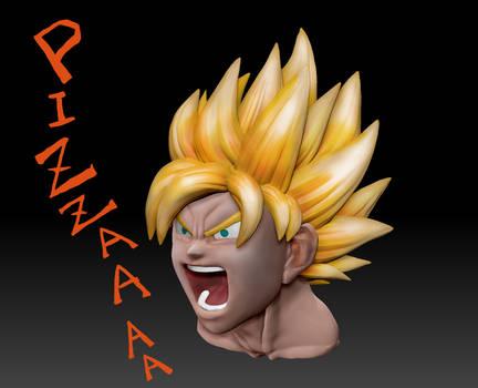 Super Saiyan Goku - Battlecry