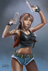 Revy Fan art. (Black Lagoon)
