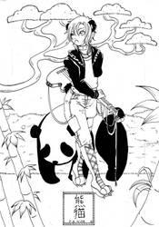 Panda by Tanuki-Mapache