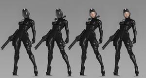 Agent crossover by Alczak