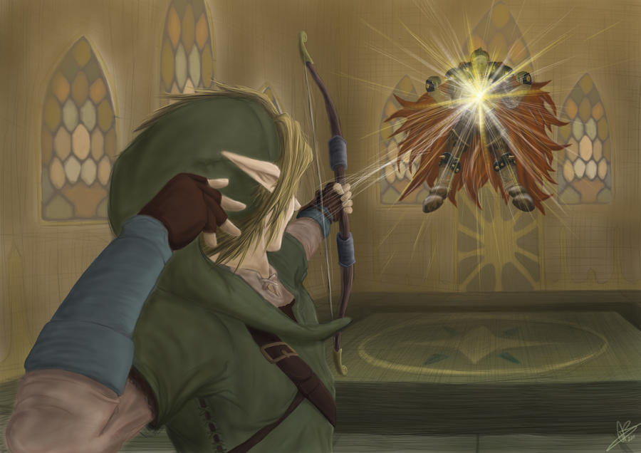 Link VS Ganondorf by Doooley