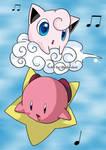 Jigglypuff and Kirby