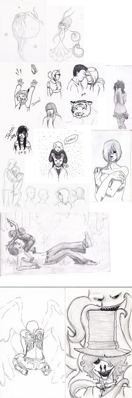 Sketches by marimiharu
