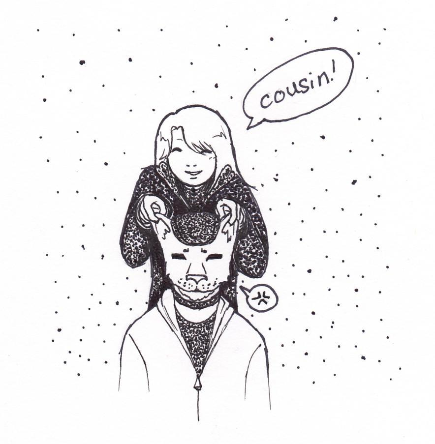 Cousin x3 by marimiharu