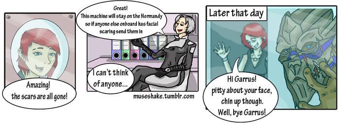 facial scars by asimpleparadox