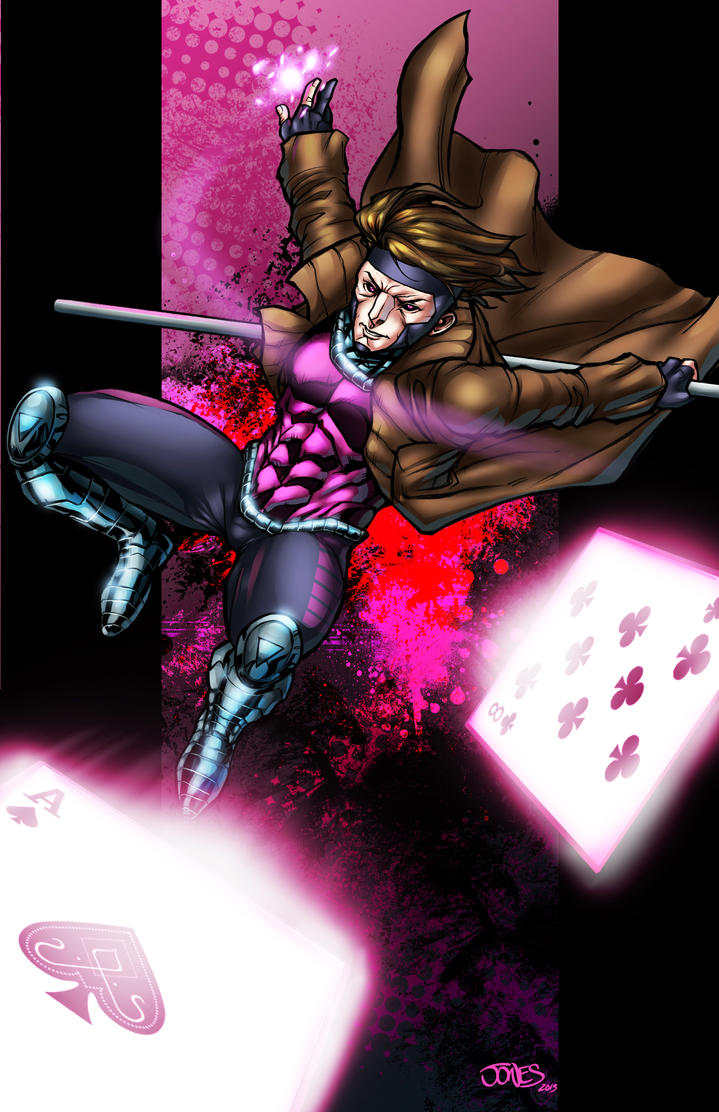Gambit by WillJonesArt