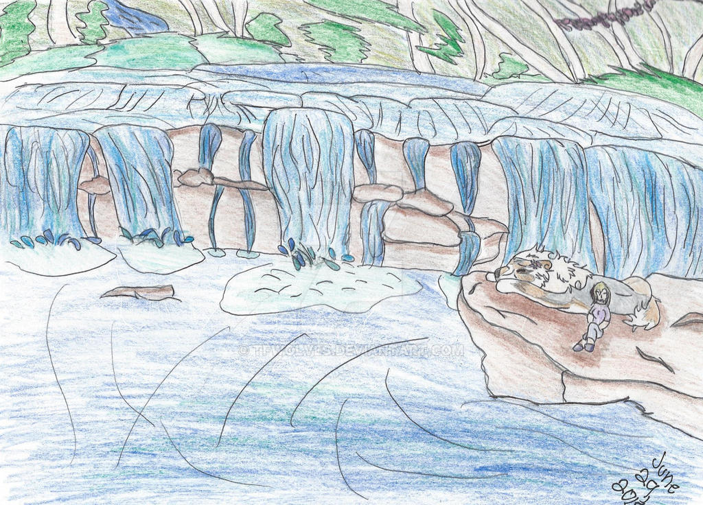 :Exploration: Harmony Falls by TFWolves
