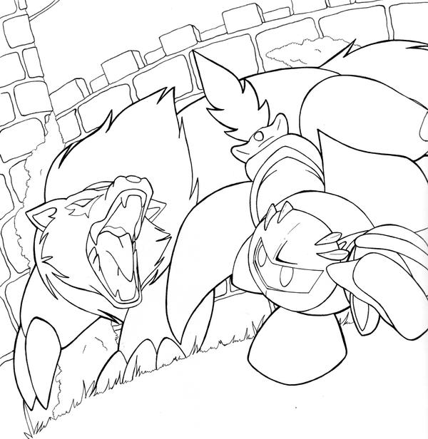 Meta Knight vs Wolfwrath by neiyoko on DeviantArt