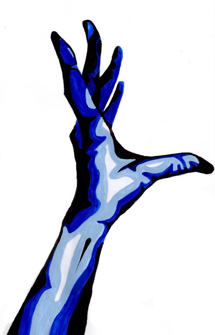 Pop Art: Reaching Hand by Amigoamiga on DeviantArt