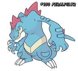 160 - Feraligatr