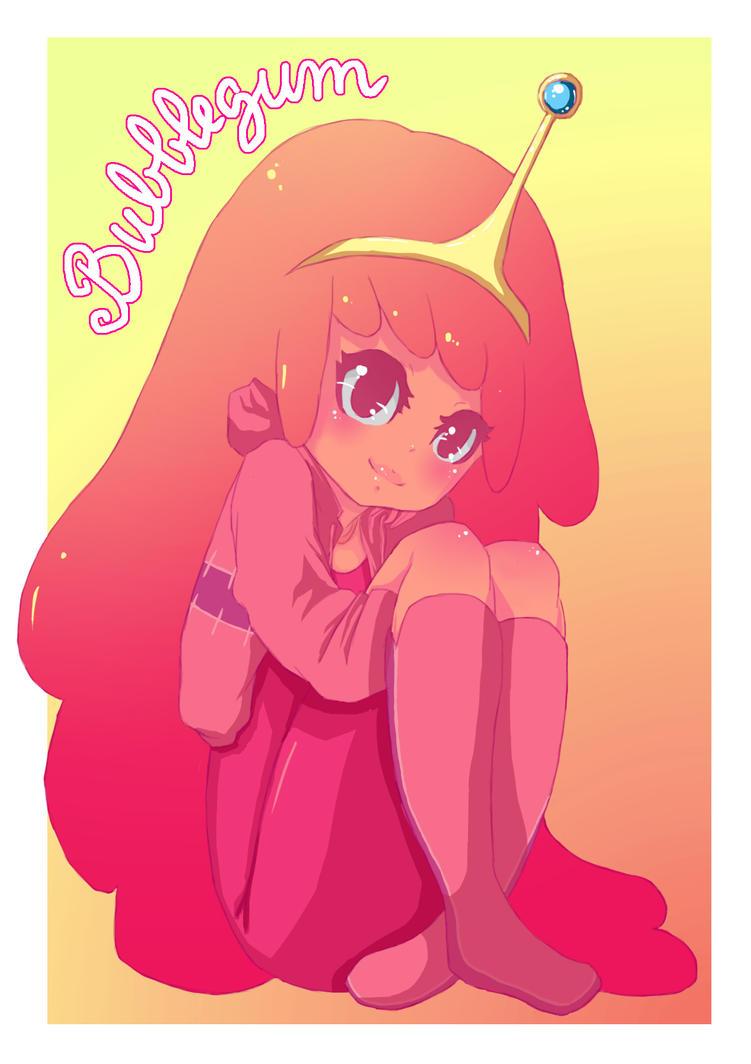 Princess Bubblegum by YorozuyaHaruChan