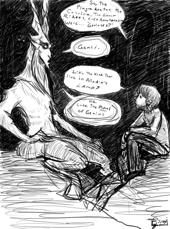 The Genius Dialogue By Skeleton Boy On Deviantart