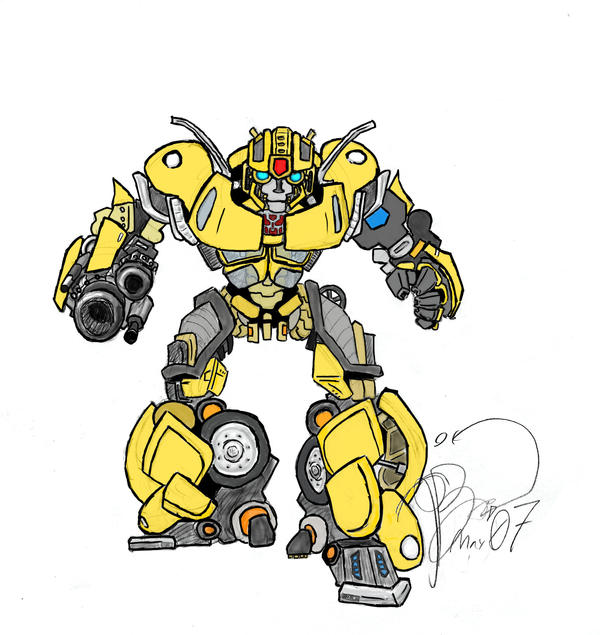 Transformers Bumblebee By Skeleton Boy On Deviantart