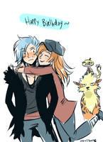 Happy birthday Kir by Laureth-dk
