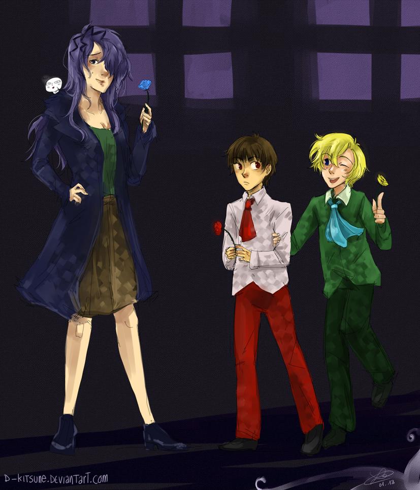 Ib - Genderbend by D-Kitsune