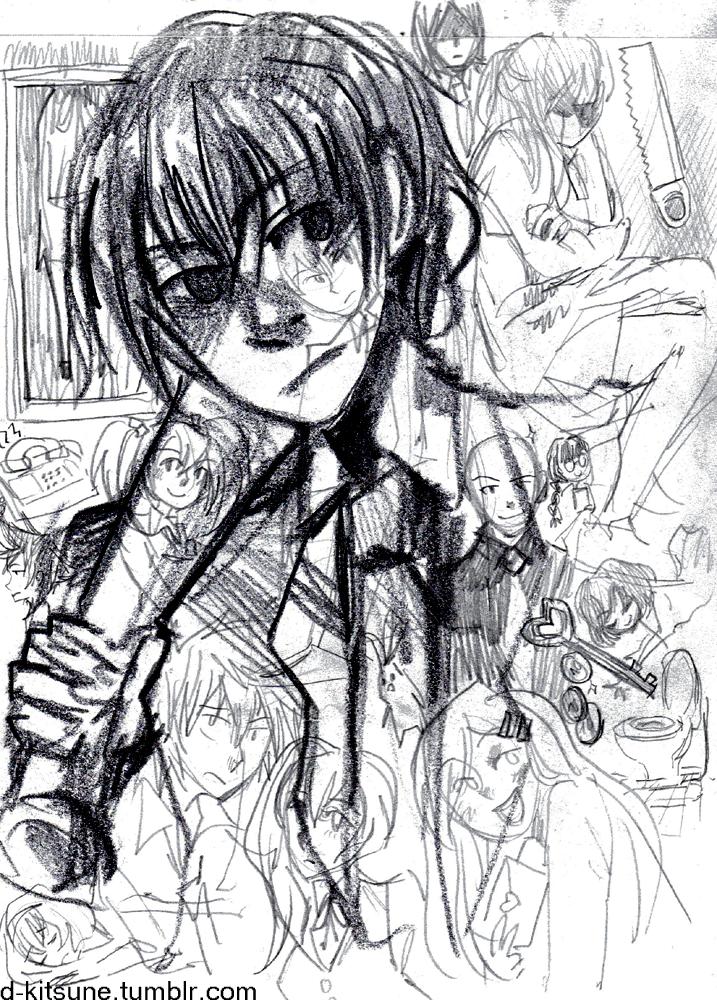 Scrawls of Misao by D-Kitsune