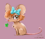 Clover and bow by Laureth-dk