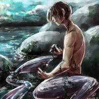 Mermaid Boy by Laureth-dk