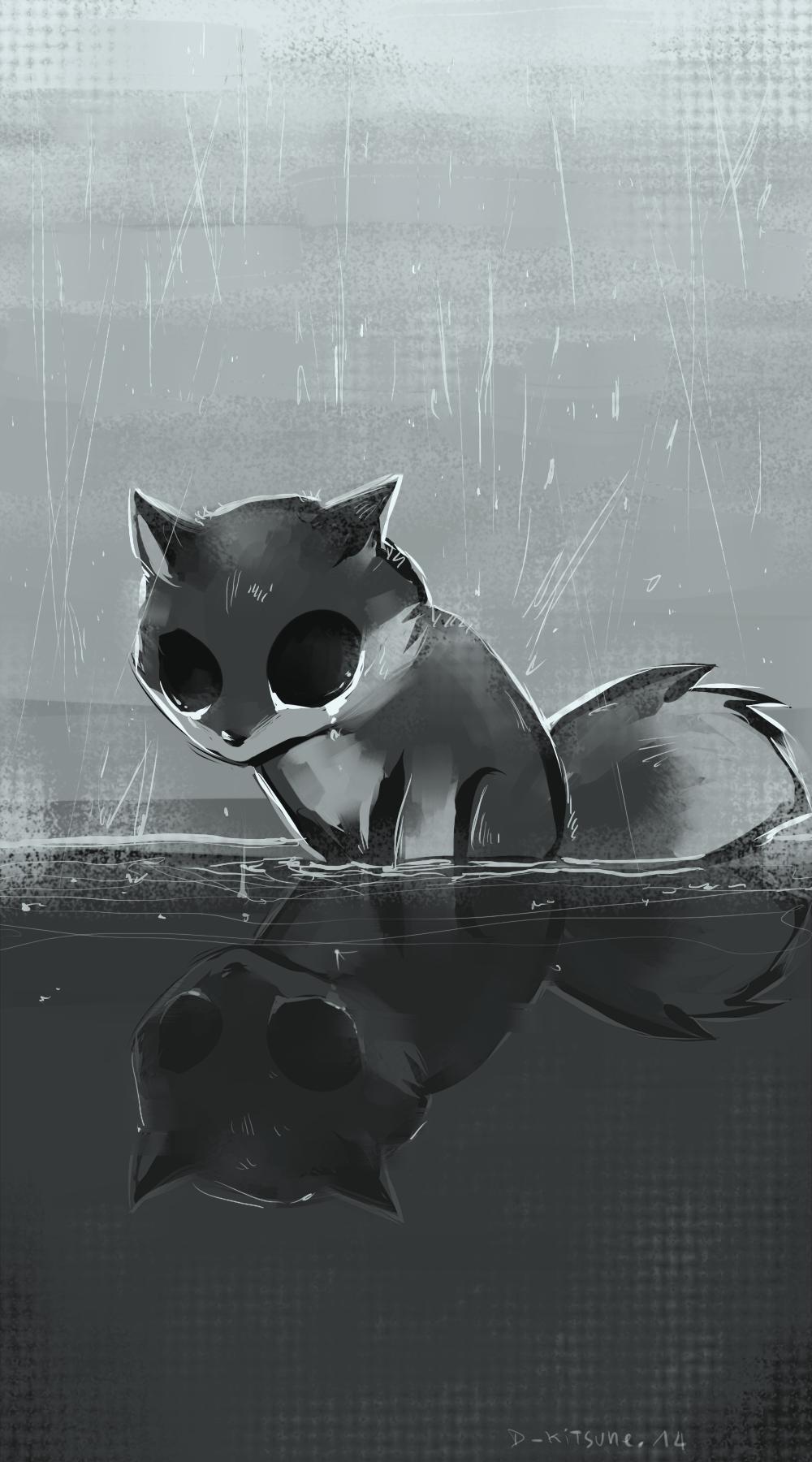 Dark Kitsune by D-Kitsune on deviantART