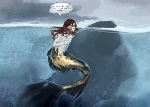 [MIAM] AU - Neah Mermaid transformation