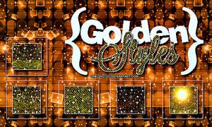 Golden Styles Glitter!
